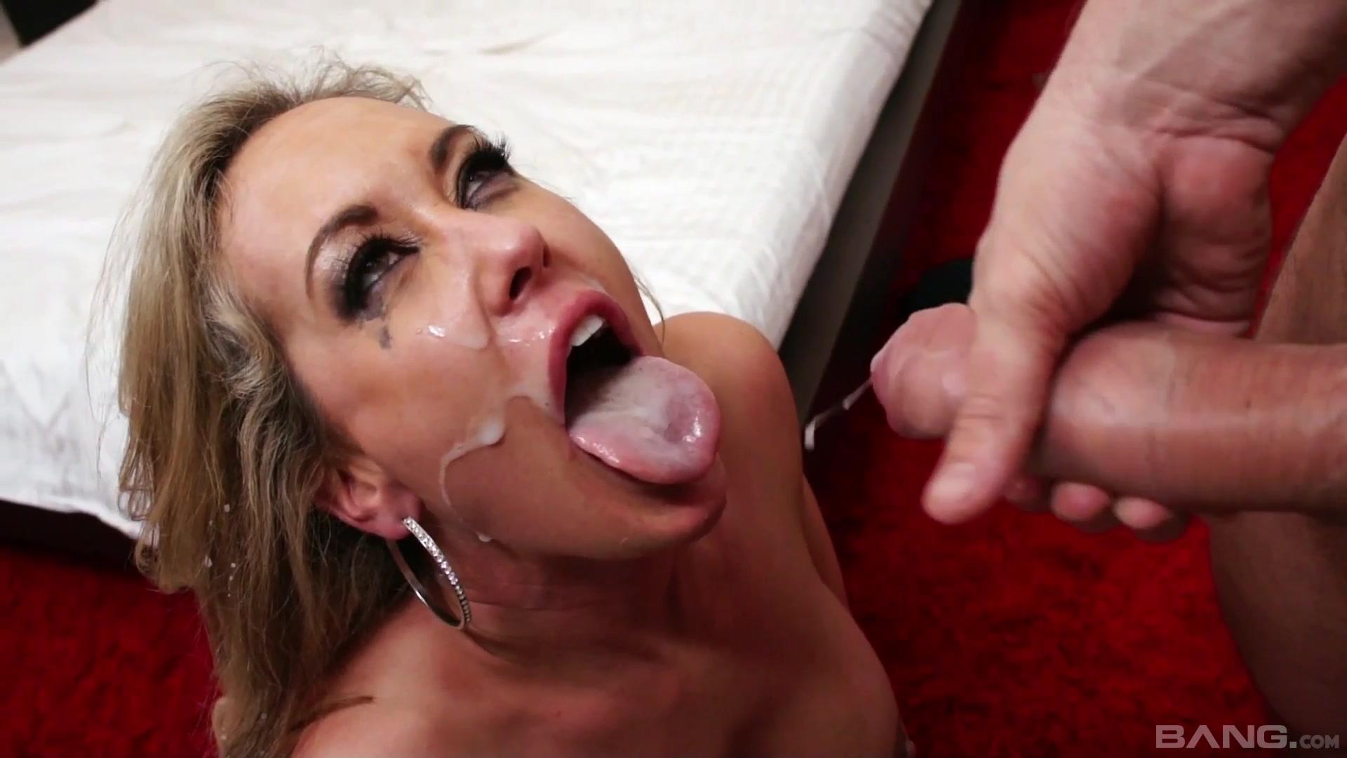 Brandi Love Swallow Cum
